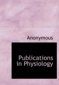 Publications in Physiology