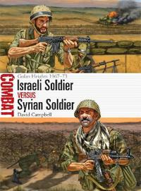 Israeli Soldier Vs Syrian Soldier: Golan Heights 1967-73