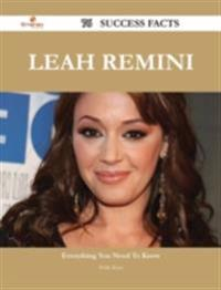 Leah Remini 76 Success Facts - Everything you need to know about Leah Remini