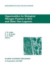 Opportunities for Biological Nitrogen Fixation in Rice and Other Non-legumes