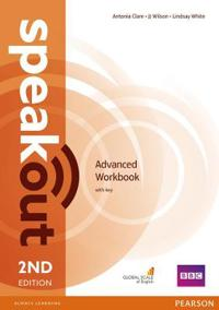 Speakout advanced 2nd edition workbook with key