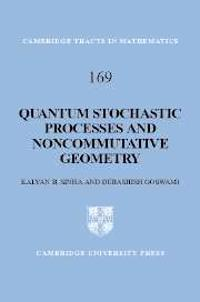 Quantum Stochastic Processes and Noncommutative Geometry