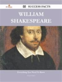 William Shakespeare 86 Success Facts - Everything you need to know about William Shakespeare