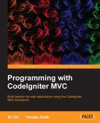 Programming with CodeIgniter MVC