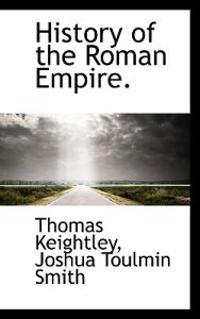 History of the Roman Empire.