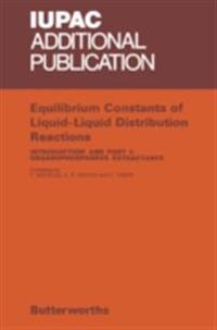 Equilibrium Constants of Liquid-Liquid Distribution Reactions