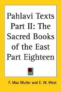 Pahlavi Texts