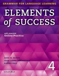Elements of Success: 4: Student Book with essential Online Practice
