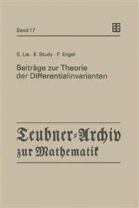 Beitr�ge Zur Theorie Der Differentialinvarianten