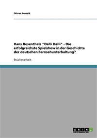 Hans Rosenthals 'Dalli Dalli'