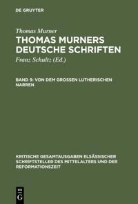 Von dem groen Lutherischen Narren