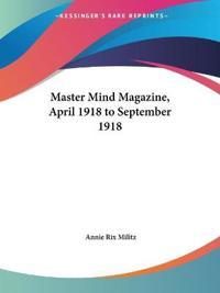 Master Mind Magazine 1918