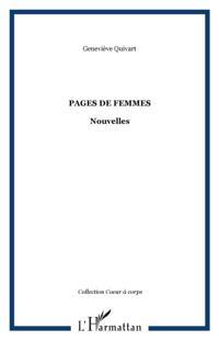 Pages de femmes