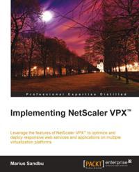 Implementing NetScaler VPX(TM)