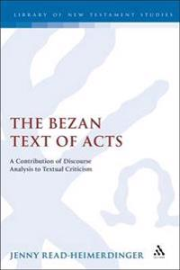 Bezan Text of Acts