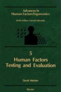 Human Factors Testing and Evaluation