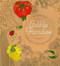 Edible Paradise Adult Coloring Book