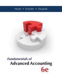 Fundamentals of Advanced Accounting with Connect Access Card