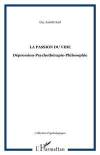 Passion du vide depression-psychotherapi