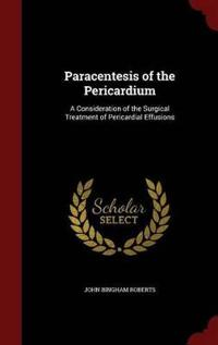 Paracentesis of the Pericardium