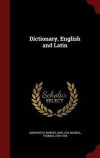 Dictionary, English and Latin