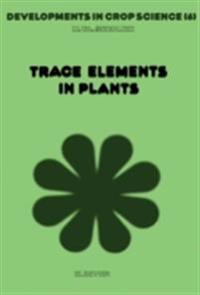 Trace Elements in Plants