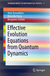 Effective Evolution Equations from Quantum Dynamics