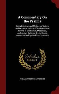 A Commentary on the Psalms