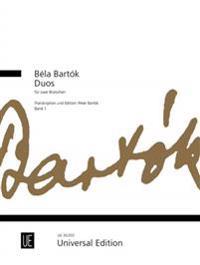 Bela Bartok Duets for Two Violas, Volume 1