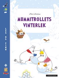 Mummitrollets vinterlek; Les og finn - Katariina Heilala   Inprintwriters.org