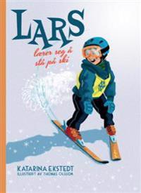 Lars lærer seg å stå på ski!