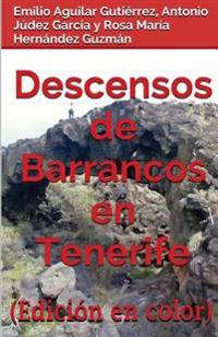 Descensos de Barrancos En Tenerife (Edicion En Color)