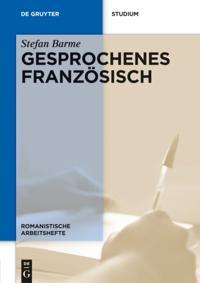 Gesprochenes Franzosisch