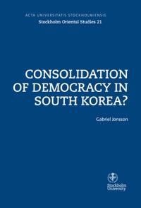 Consolidation of democracy in South Korea?