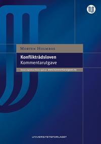Konfliktrådsloven - Morten Holmboe | Ridgeroadrun.org
