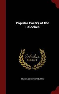 Popular Poetry of the Baloches