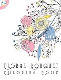 Floral Bouquet Coloring Book