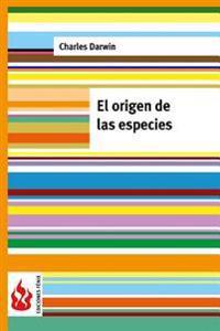 El Origen de Las Especies: (Low Cost). Edicion Limitada
