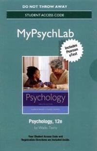 New Mylab Psychology with Pearson Etext -- Standalone Access Card -- For Psychology