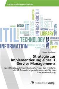 Strategie Zur Implementierung Eines It Service Managements