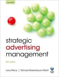 Strategic Advertising Management
