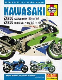 Kawasaki zx750 fours service and repair manual