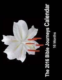 2016 Bible Journeys Calendar: 16 Month Calendar