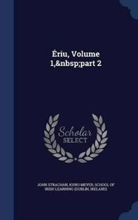 Eriu, Volume 1, Part 2