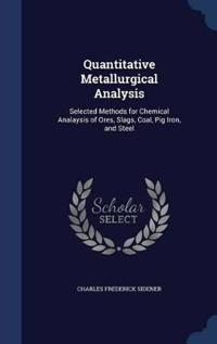 Quantitative Metallurgical Analysis