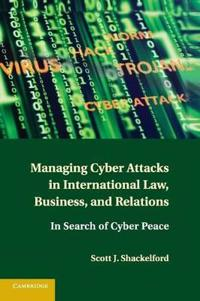 Managing Cyber Attacks in International Law, Business, and Relations