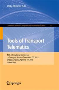 Tools of Transport Telematics