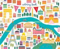 Paris Coloring Book