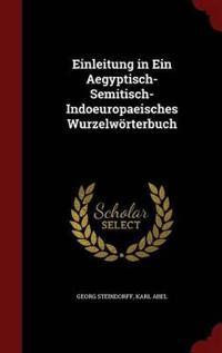 Einleitung in Ein Aegyptisch-Semitisch-Indoeuropaeisches Wurzelworterbuch