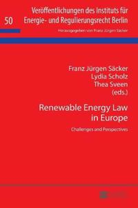 Renewable Energy Law in Europe